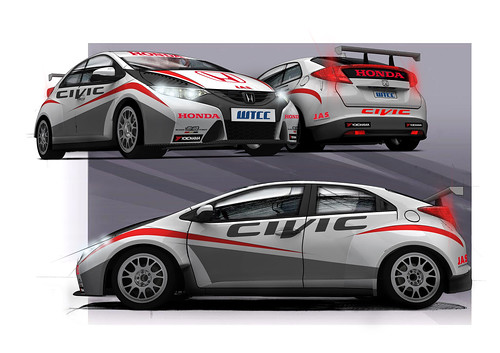 Honda Civic WTCC 2012
