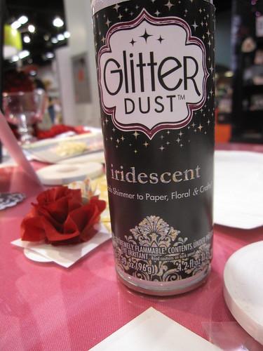 CHA Day 2! Glitter Dust!