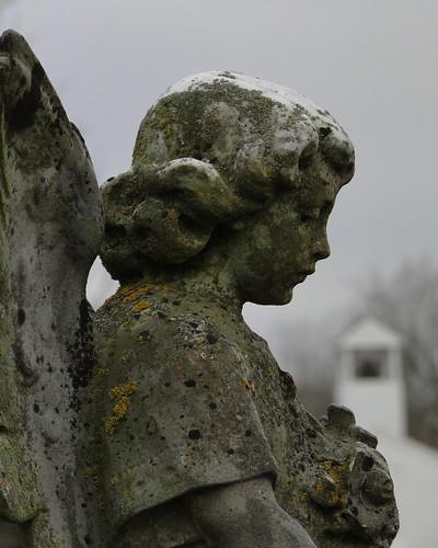 church cemetery stone angel memorial sad indiana marengo crawfordcounty dschx1 marengocemetery