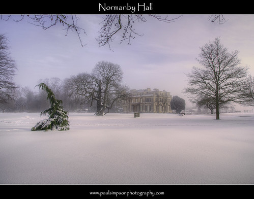 Normanby Hall (Feb 2012)