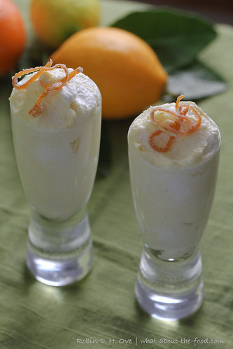Mixed citrus mousse
