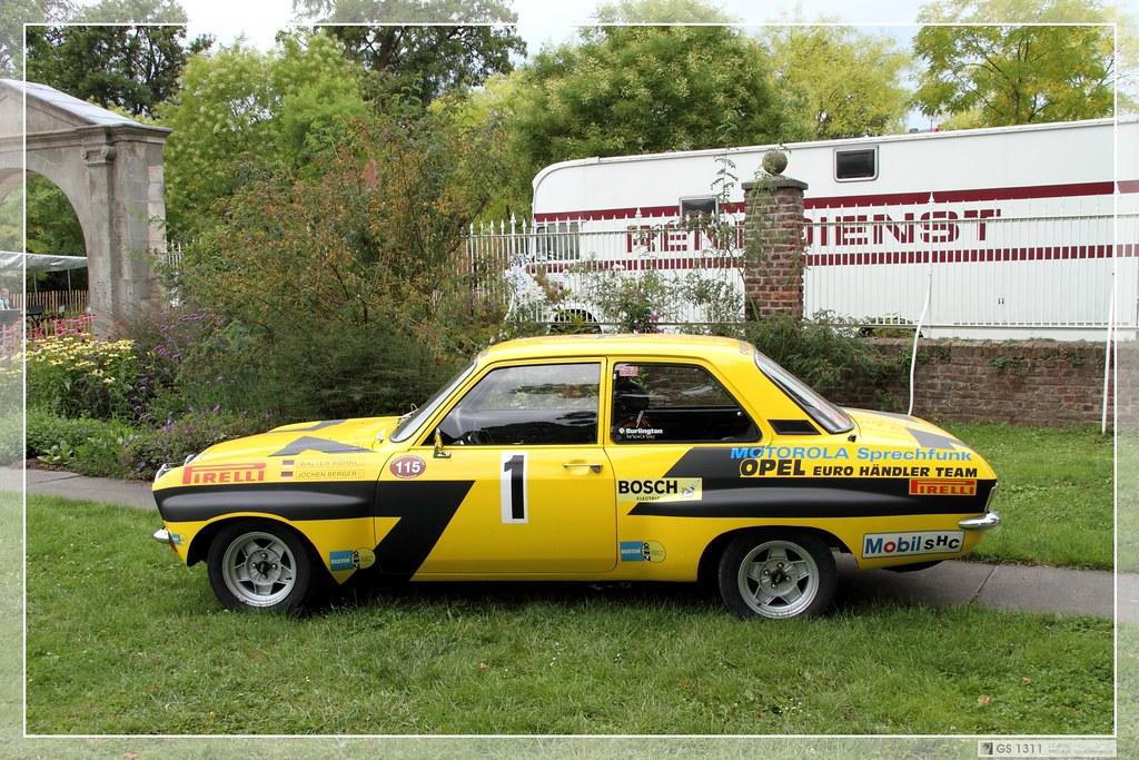 1974 Opel Ascona A Rallye 03 A Photo On Flickriver