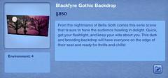 Blackfyre Gothic Backdrop