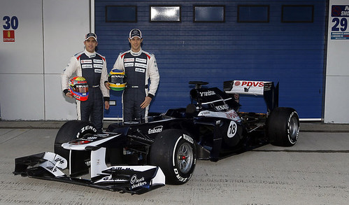 Williams FW34 2012