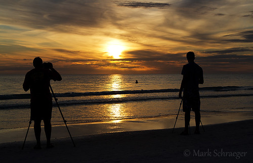 Photographing the Sunset