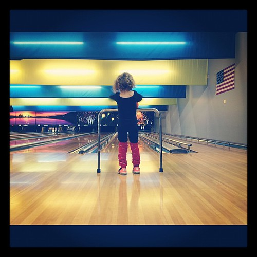 My lily' flash dancer wore this bowling today.