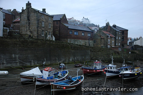 boats in Yorkshire England