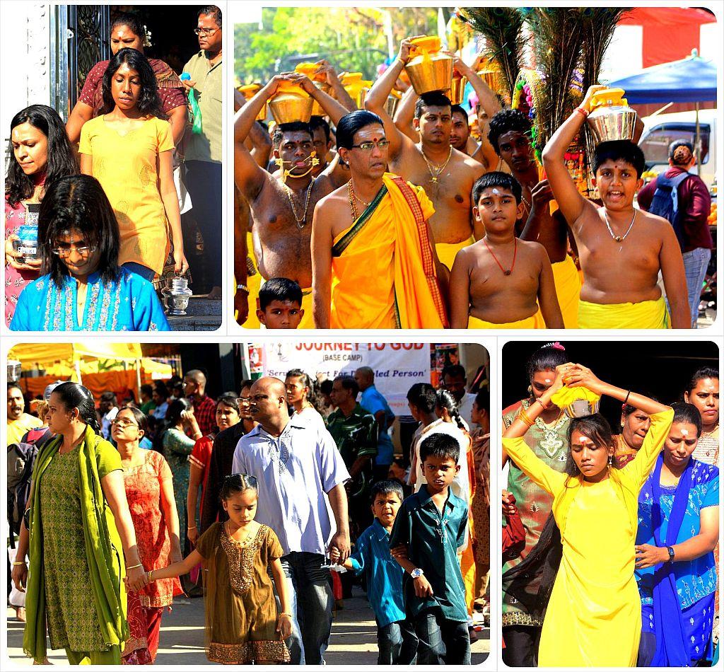 thaipusam 2012 hindu families