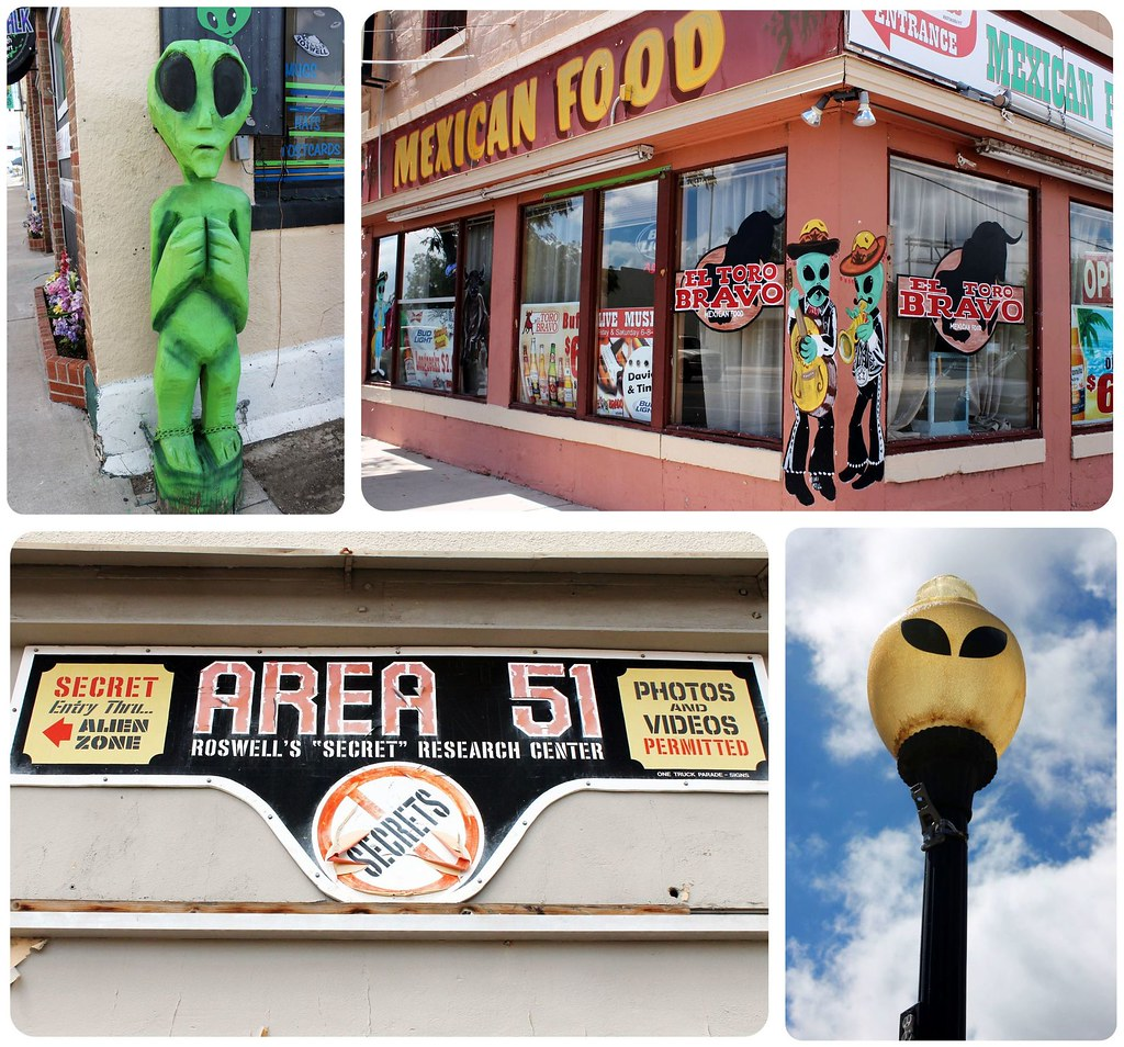 Roswell New Mexico all about aliens