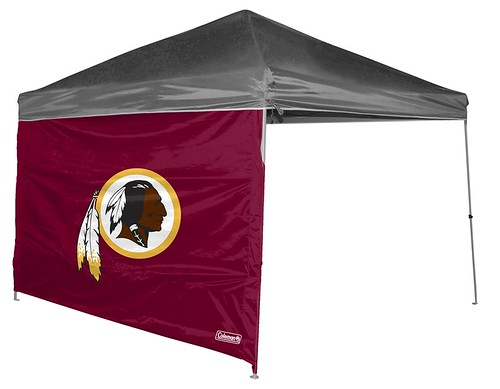 Washington Redskins Straight Leg Canopy Shelter Side Wall
