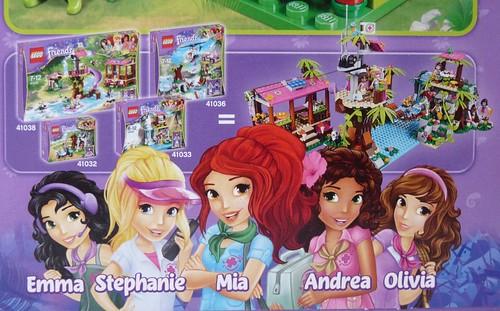 LEGO Friends Jungle Tree House (41059)
