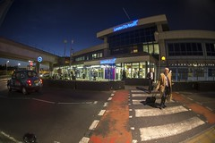 LCY Terminal at Night