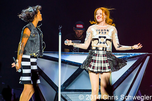 Icona Pop - 04-12-14 - Bangerz Tour, The Palace Of Auburn Hills, Auburn Hills, MI