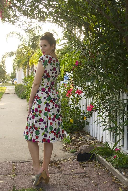 Mood Fabrics/Floral Silk/BHL Anna Dress