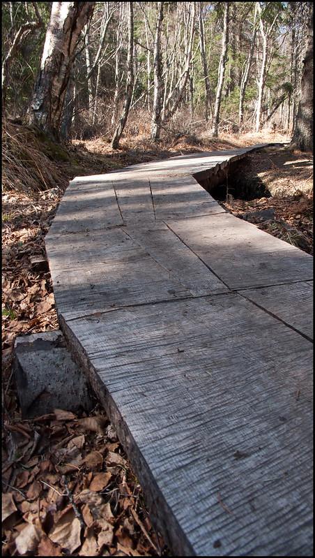 boardwalk section