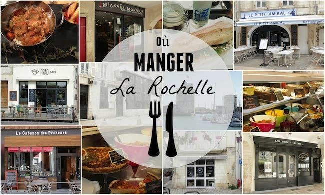 Mes bonnes adresses où manger à La Rochelle