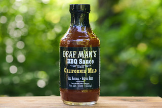 Sauced: Deaf Man's BBQ Sauce California Mild & Giveaway