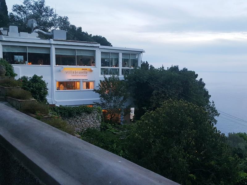 Terrazza Brunella Restaurant Capri