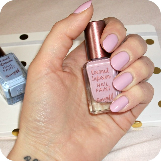Barry M Coconut Infusion Surfboard NOTD
