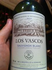 2010 Los Vascos Sauvignon Blanc
