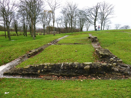 Remains of Roman Fort at Barr Hill