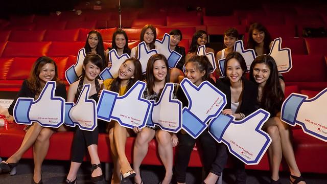 SingTel Casting Call Finalists
