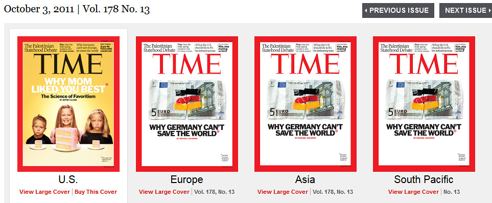 Time Magazine Covers us vs World Time Magazine Covers in The us