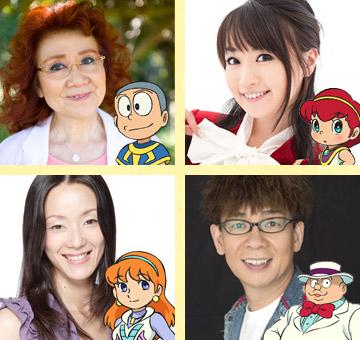 111126 - 2012年度劇場版《哆啦A夢:大雄與奇蹟之島》公佈新豋場角色聲優名單!