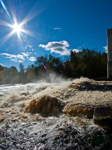 Hat Rapids Dam