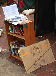 The People's Library at Occupy Baltimore, November 26, 2011