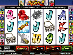 Street Fighter slot game online review
