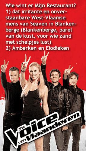 The Voice van Vlaanderen - la voz de la Flandre