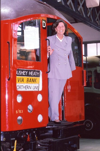 Opening of LTMs exhibition The Right Heels for the Job by London Transport Museum