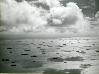 This is Seeadler Harbor in the Admiralties on 6 October 1945