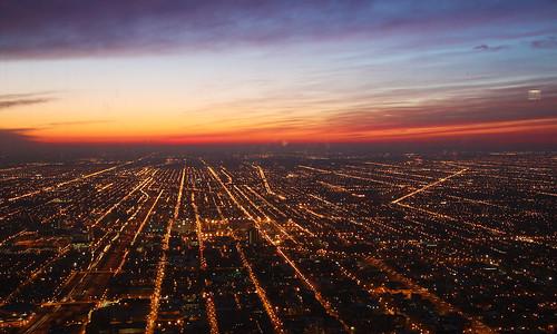 longexposure sunset chicago sunsetlight canon500d westsidechicago canon1785mmf3556 willistower canont1i 芝加哥,伊利诺伊州,芝加哥西部,傍晚,日落,日落之光,佳能,佳能500d,司远帅,