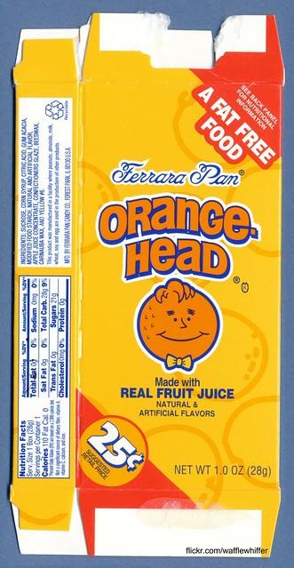 RIP Orangehead : 1996-2011