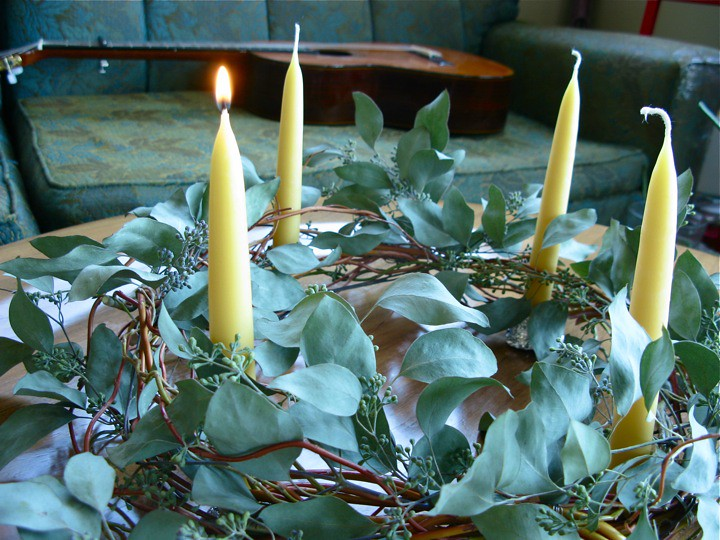 modern advent wreath 005