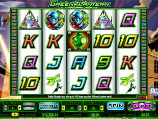 Green Lantern slot game online review