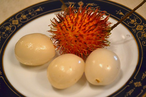 Rambutan, inside & out