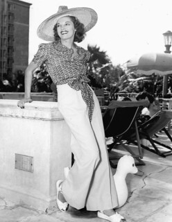 Hat fashions at the Roney Plaza Hotel