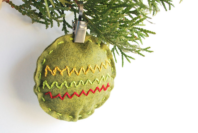Zig Zag Ornament