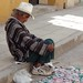 Street Vendor - Vendedor de hierbas; Tlaxiaco, Oaxaca, Mexico por Lon&Queta