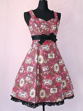 Victorian Maiden Dress-up rose jsk