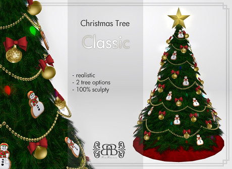 {B} Christmas Tree - Classic, 698 lindens by Cherokeeh Asteria