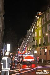 Wohnungs- & Dachstuhlbrand Bismarckring 06.12.11