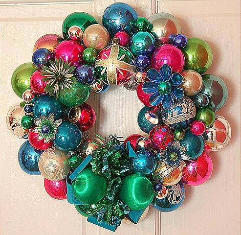 Vintage Xmas Wreath