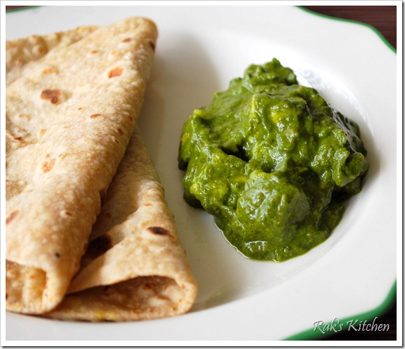 Palak paneer recipe, how to make palak paneer - Raks Kitchen