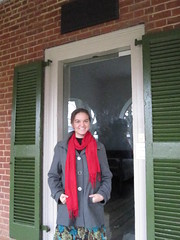 Jennifer visiting Poe's dorm room at UVA