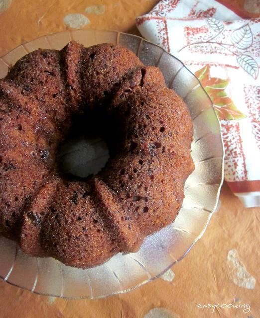 Eggless Fruit Cake With Vinegar