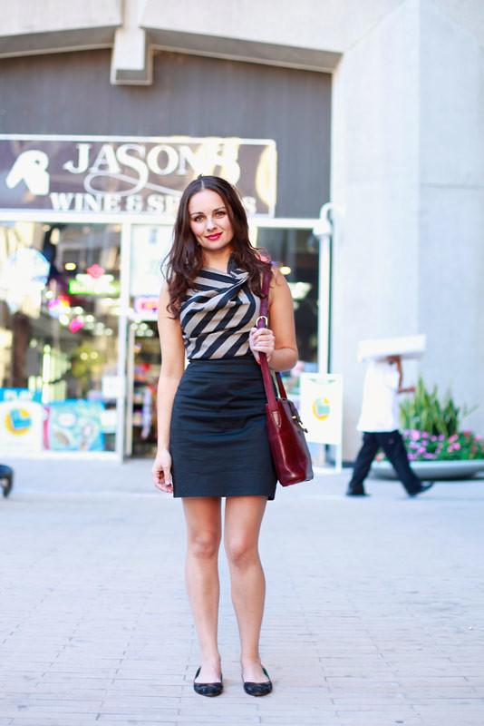 50dresstess LA street fashion style